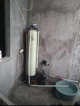Filter penjernih air zat besi tinggi karat kuning bau rasa warna