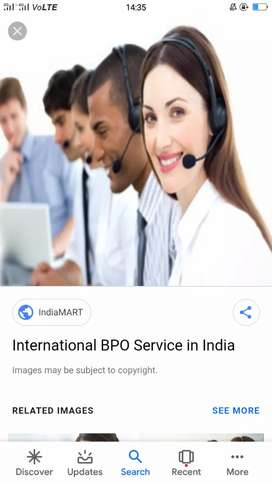 Need experience cce for international bpo