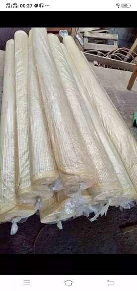 Jual tikar rotan dan tirai bambu