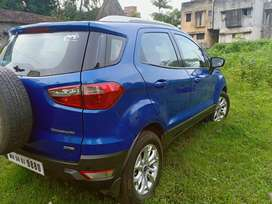 Available On rent with self driving ecosport titanium diesel