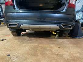 Skoda rapid rear bumper Diffuser