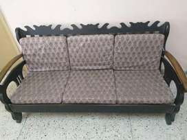 Sofa set wooden - 5 seaters