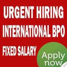 Hiring for International BPO