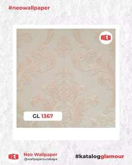 Promo Wallpaper dinding bahan vinyl premium harga murah