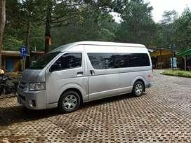 Rental mobil Toyota Hiace 14 seat Luar kota & Dalam Kota