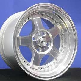 Velg SC-02 5131 HSR R15X8/9 H4x100 ET30/25 SMFL