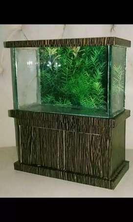 Aquarium mini buat ikan cupang