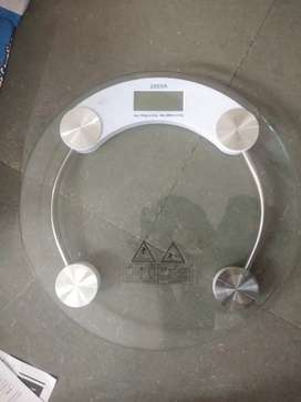 Body scale 6mm glass weighing Machine