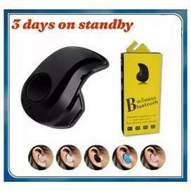 Headset keong EARBUDS bluetooth versi 4.1 keren  dan pas di telinga