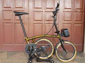 Sepeda lipat element pikes gen 2