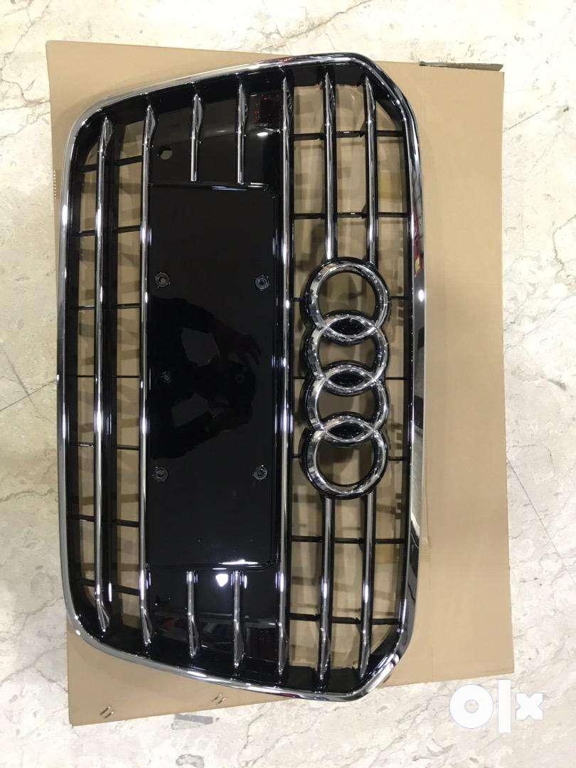 Audi A6 matrix style chrome grill 0
