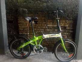 Sepeda Lipat Ring 20