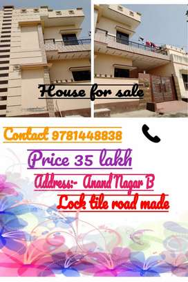 House for sale of 30 lakh