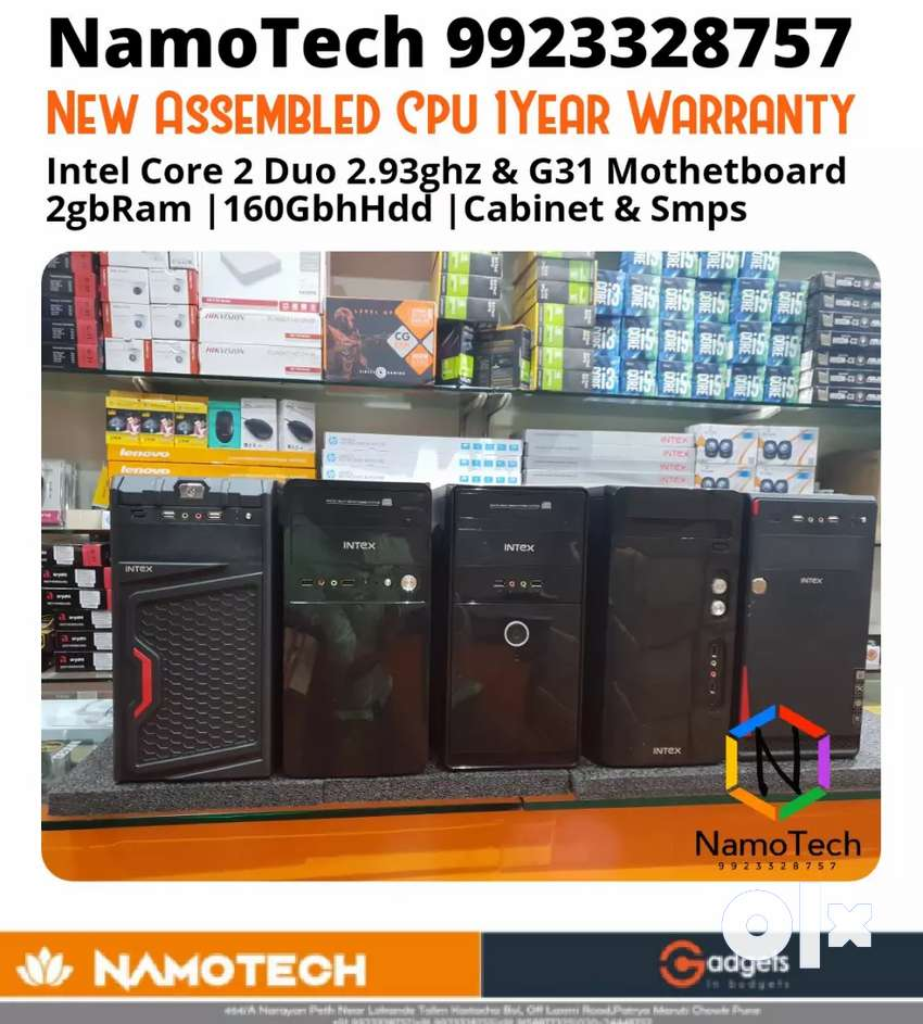BRAND NEW ASSEMBLED CPU C2D 2GBRAM 160GBHDD 1YR WTY 0