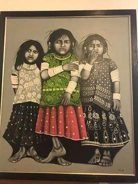 3 village girls