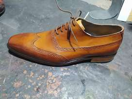Leather shoes pumpy for men Handmade
