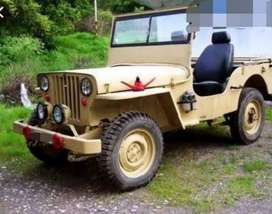 Willy skin modified jeep