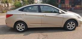 Hyundai Verna Fluidic 1.4 VTVT, 2013, Petrol