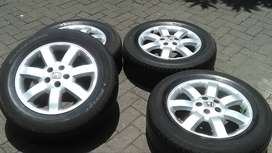 Ring17 Velg Oem All New CR-V 2.4 Velg Dan Ban Pcd 5-114,3