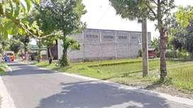 Tanah Bonus Bangunan Lokasi Strategis di Tepi Jl. Wonosari Jogja