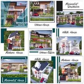 ribuan karya kami, arsitek /desain rumah pengalaman 16 th di Pontianak