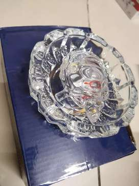 Crystal Tortoise with Crystal tray