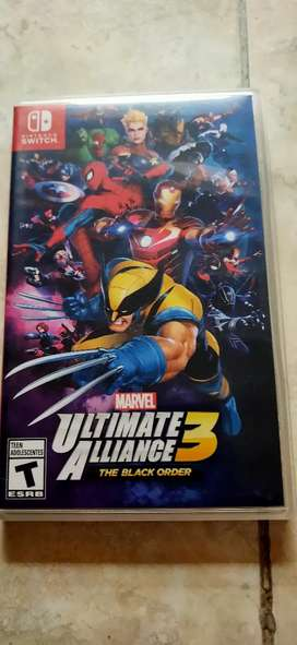 Jual game cartridge Nintendo switch marvel ultimate alliance 3