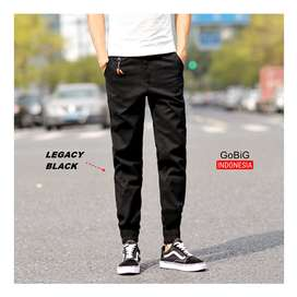 Legacy Jogger Pants - JOGGER INDONESIA - Simple Black
