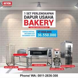 PROMO  MURAH !! Paket Perlengkapan Satu Set Usaha Bakery Terlengkap