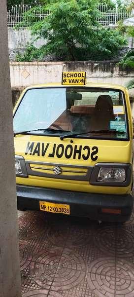 Yellow Color Omni School Van