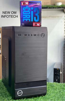 NEW i3 CPU WITH 1 YEAR WARRANTY/500GB HDD/4GB RAM/FIX PRICE/CALL NOW