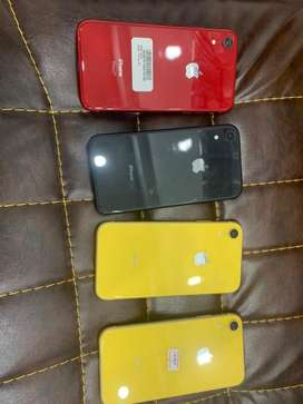 Iphone xr 64gb and 128gb non pta 2 months sim working