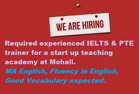 PTE & IELTS English Trainer