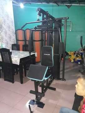 Home gym 1 sisi ( beban sampai 75kg) perakitan dan pengiriman gratis
