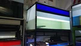 Aquarium fullset ukuran 1m