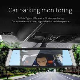 A9 10inches car 1080p video recording DVR system + 4G and Bulitin Cam