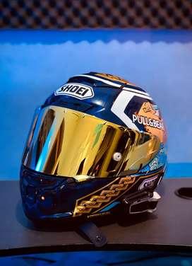 Shoei X14 Motegi 3 XL + Iridium Gold