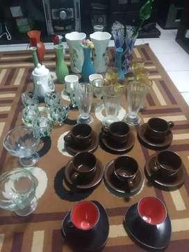 Keramik hiasan bufet