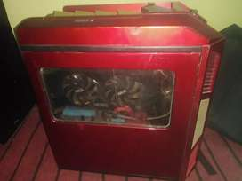 Budget Gaming pc with dell lcd for sale