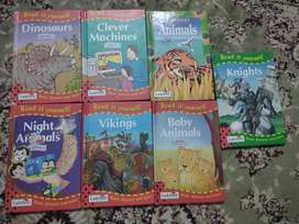 Books for kids of different age groups. Each book diff price pm to kno