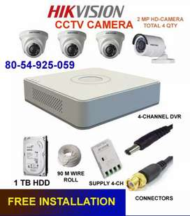 CCTV HD CAMERA FOR HOME/OFFICE /WORK AREA