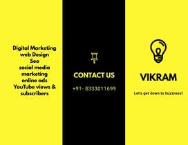 Complete Digital marketing services and web development