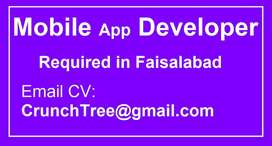 Mobile App Developers Required in Faisalabad