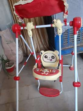 Kids swing only one month use