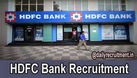 HDFC BANK job available apply now fastly limited vacancy both canapply