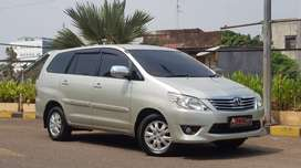 Toyota Grand Innova Diesel 2.5 G AT 2012 Torsi Berlimpah Perfect!!