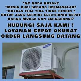 Service AC Tidak Dingin Servis Mesin Cuci Kulkas Bubutan Surabaya
