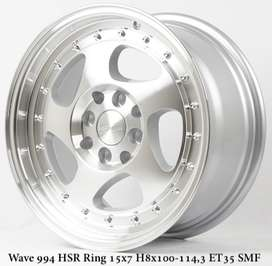 velg wave double pcd ring 15