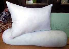 Pillow & Bolster Silicon White Anti Bakteri & Jamur