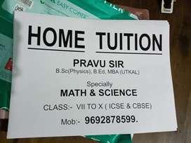 MATH & SCIENCE ( class VII to X), PHYSICS- Class XI to XII